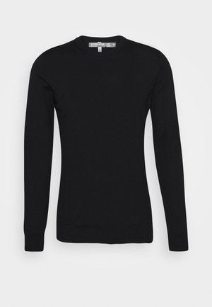 MENS SHEARER CREWE  - Jumper - black