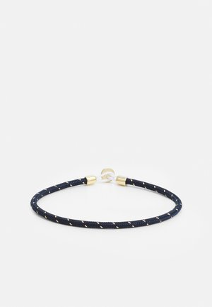 NEXUS ROPE BRACELET - Armband - navy/gold-coloured