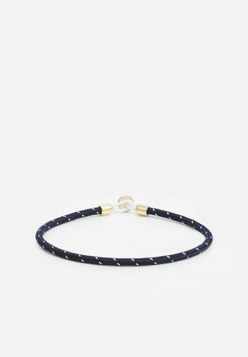 NEXUS ROPE BRACELET - Bracelet - navy/gold-coloured