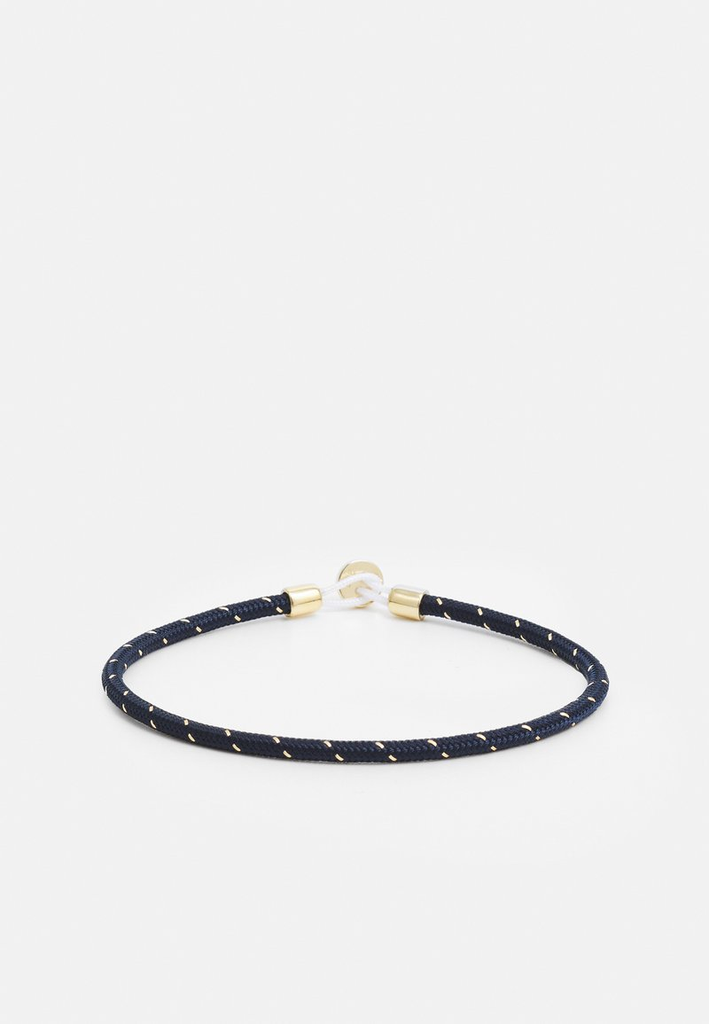 Miansai - NEXUS ROPE BRACELET - Bracciale - navy/gold-coloured