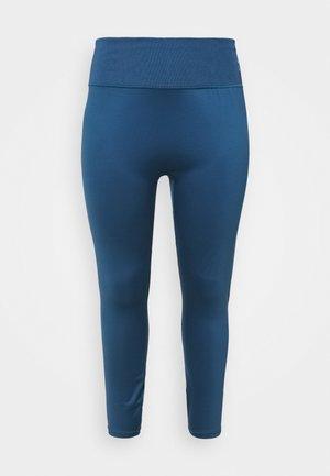 EXHALE HIGH WAIST PLUS SIZE - Collants - ensign blue