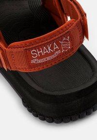 Shaka - WEEKENDER - Sandals - dark terracotta - 5
