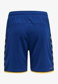 Hummel - HMLAUTHENTIC  - Sports shorts - true blue/sports yellow - 1