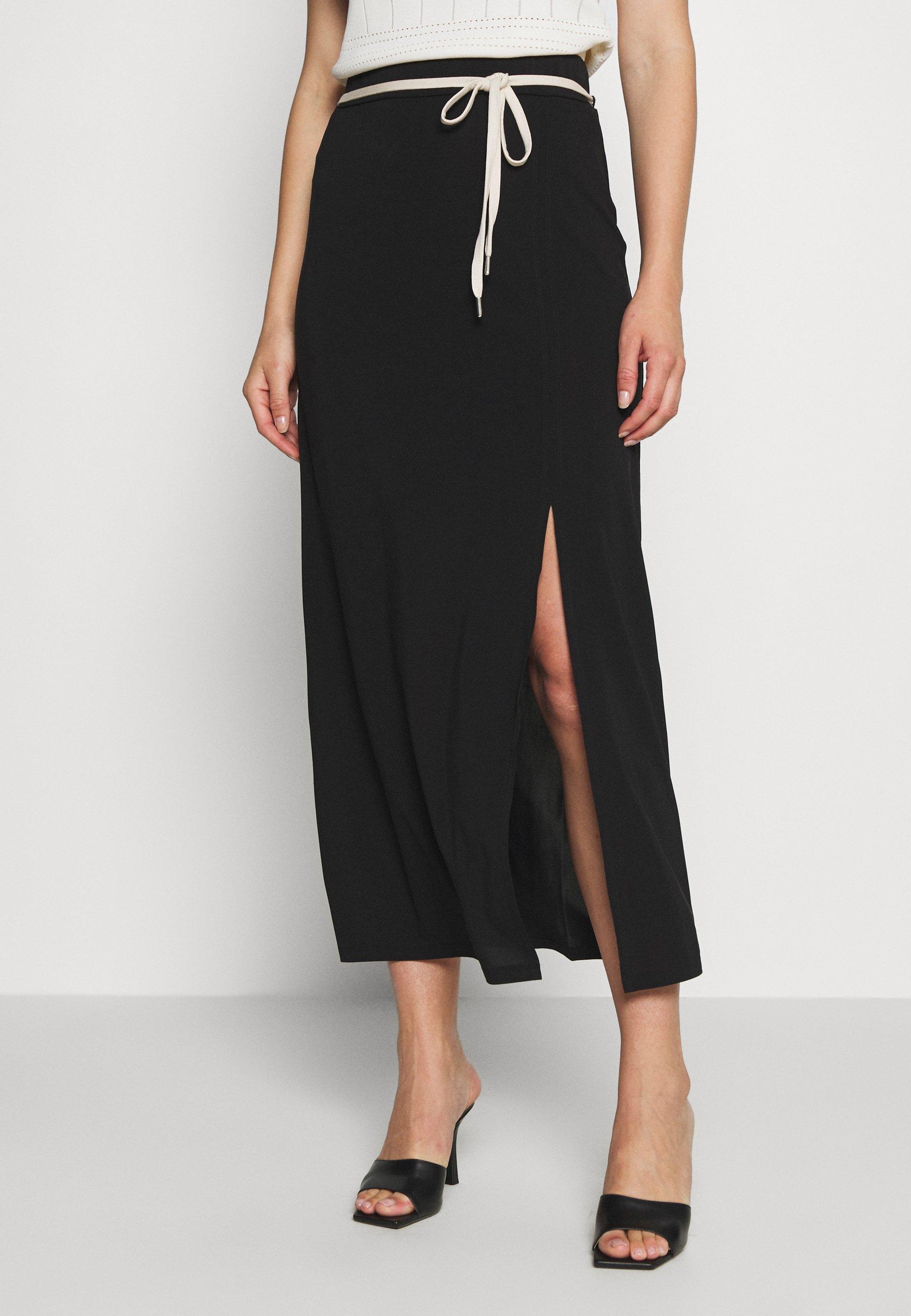 For Cheap Women's Clothing Expresso FERGIE Maxi skirt schwarz snuWNWnGZ