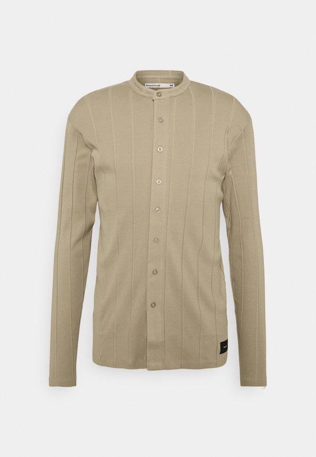 REACT GRANDAD  - Košile - beige
