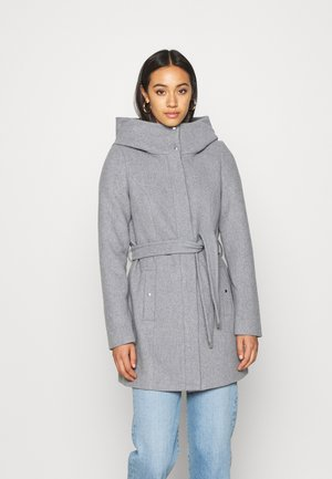 VMCLASSLIVA JACKET - Cappotto corto - light grey melange