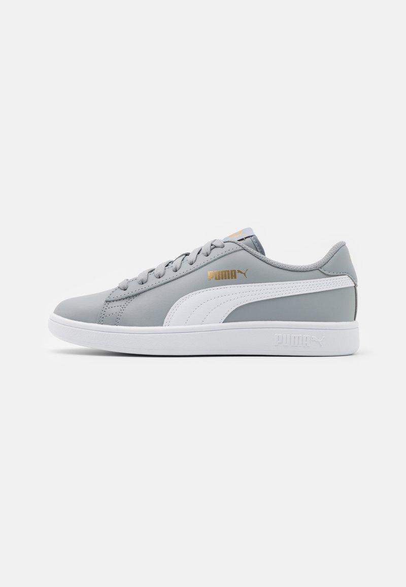 Puma - SMASH UNISEX - Sneakers laag - quarry/white/team gold