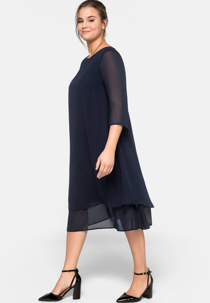 Sheego - Cocktail dress / Party dress - dark blue