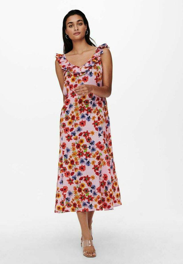 Korte jurk - barely pink