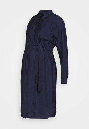 OLMEVA  - Vestido camisero - evening blue