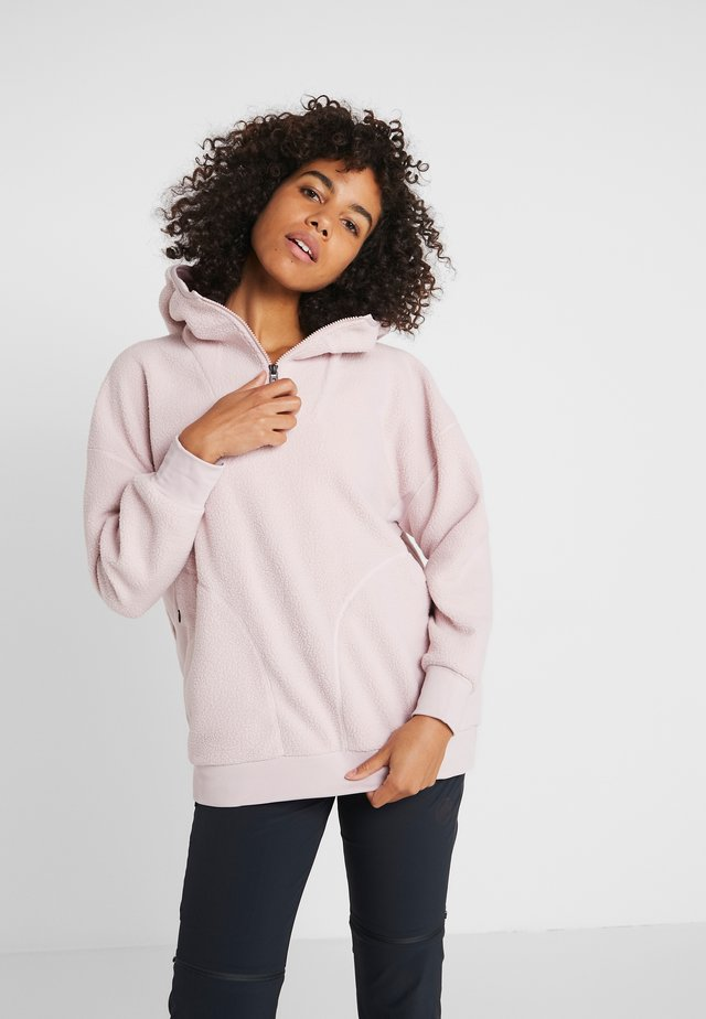 PURA - Jersey con capucha - pink