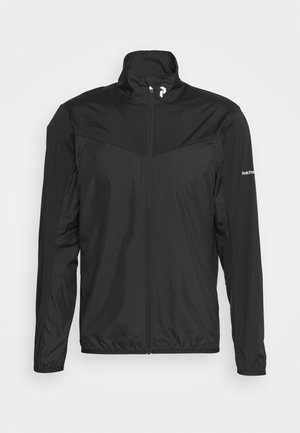 MEADOW WIND JACKET - Outdoorová bunda - black