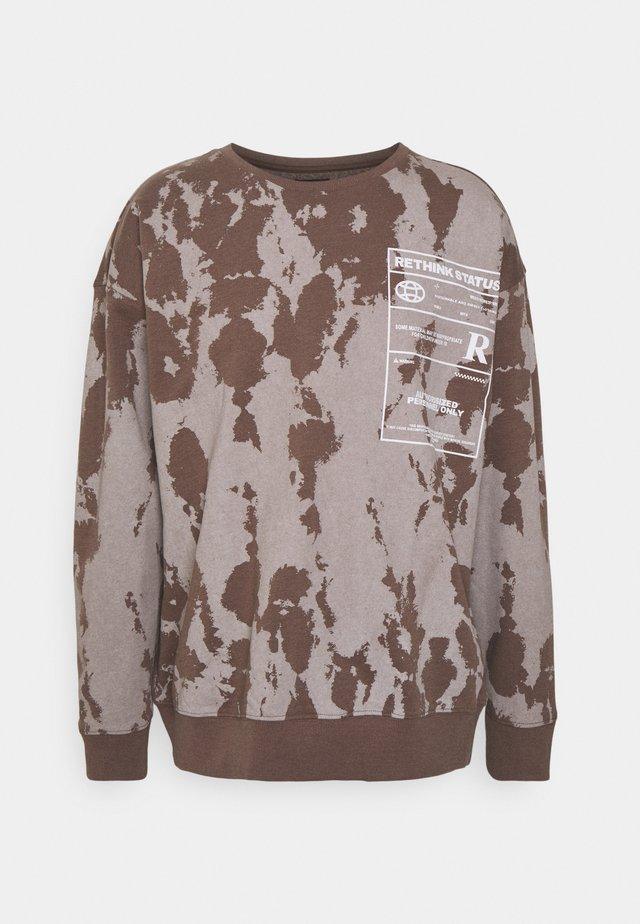CREWNECK UNISEX  - Felpa - brown