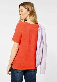 Cecil - RAGLAN  - Basic T-shirt - orange - 0