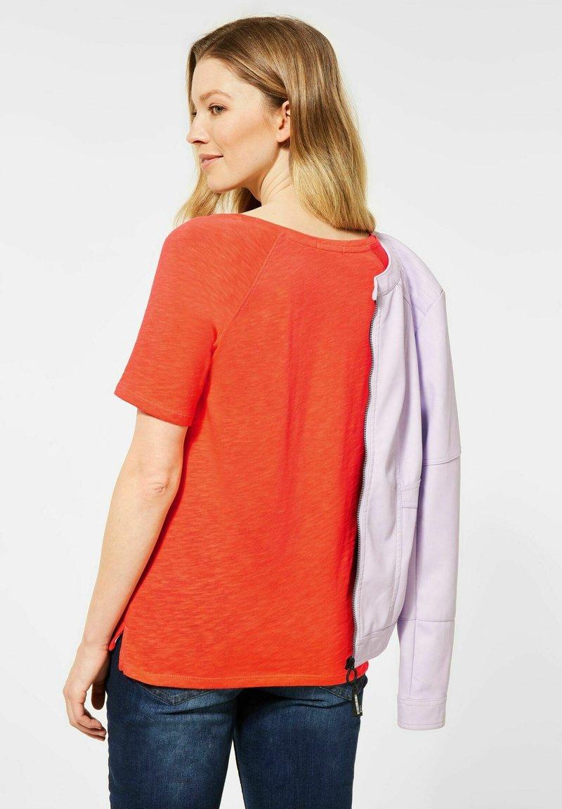 Cecil - RAGLAN  - Basic T-shirt - orange