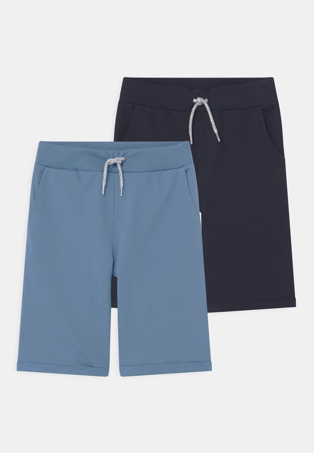 NKMVERMO 2 PACK - Shorts - parisian blue