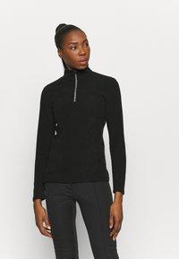 Brunotti - MISMA WOMEN - Fleece jumper - black - 0