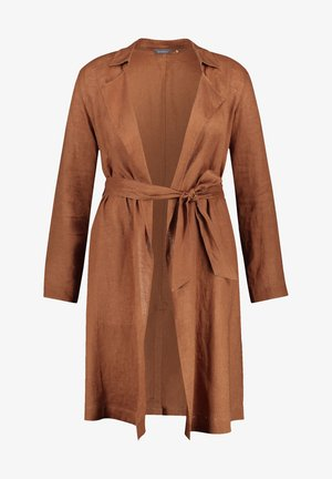 Trenchcoat - mocca brown