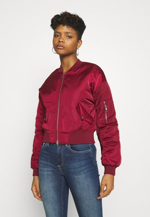 ONLPATTY JACKET  - Bomber Jacket - pomegranate