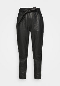 Second Female - INDIE NEW TROUSERS - Leather trousers - black - 3