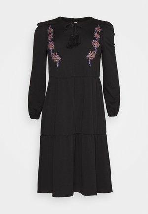 JRADINA BELOW KNEE DRESS - Day dress - black