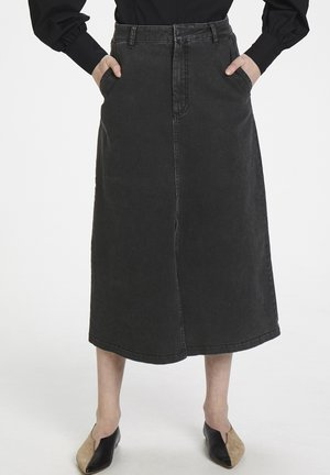 SOFYGZ  - A-line skirt - washed black
