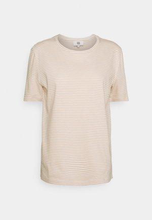 STRIPE - Print T-shirt - off white