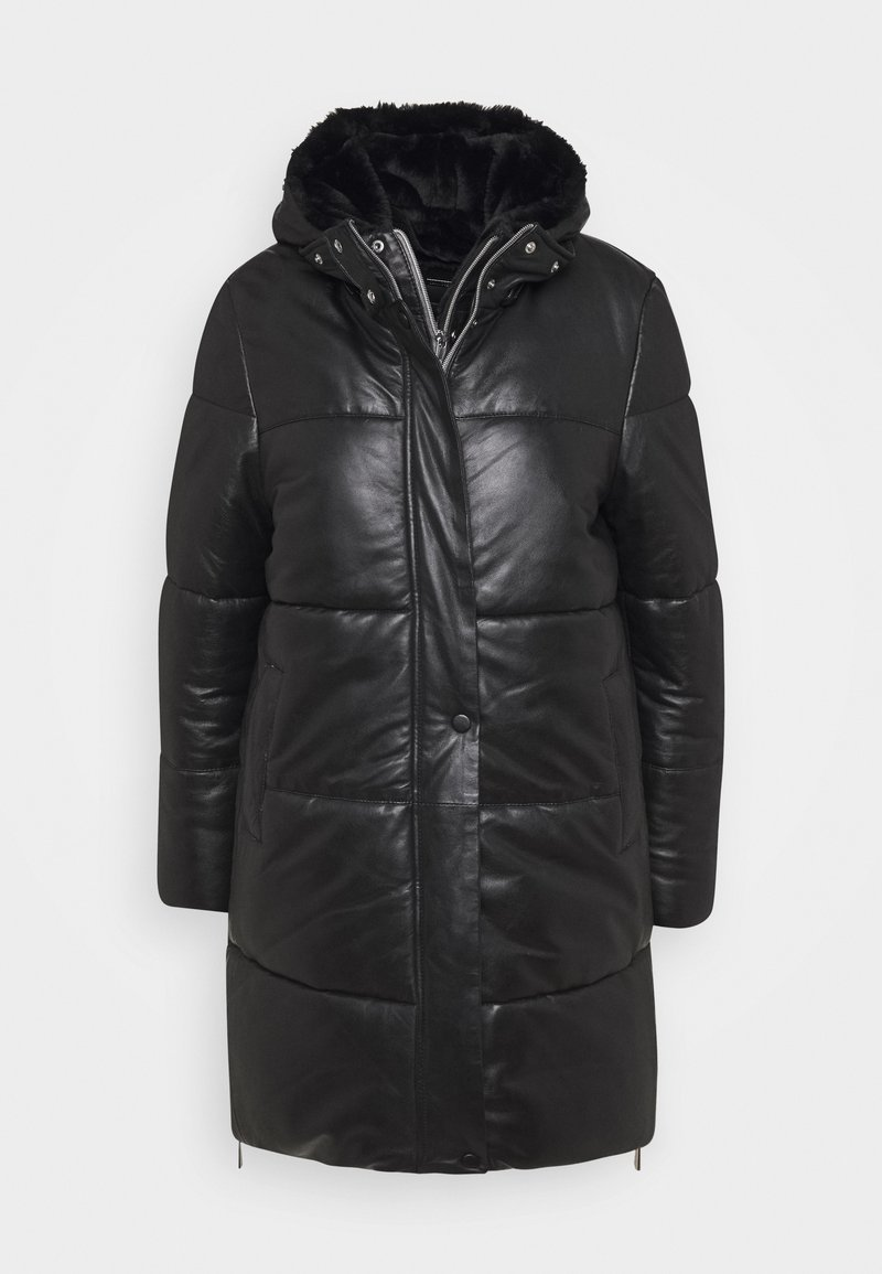 Oakwood - BERRY - Winter coat - black