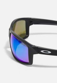 Oakley - GIBSTON UNISEX - Sunglasses - matte black w/prizm sapphire polarized - 4