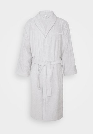 ORGANIC BATHROBE - Dressing gown - light grey