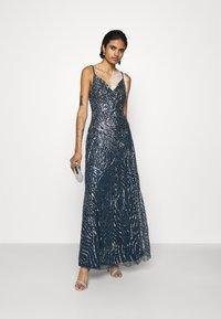 Lace & Beads - FRANCINE MAXI - Společenské šaty - navy - 1