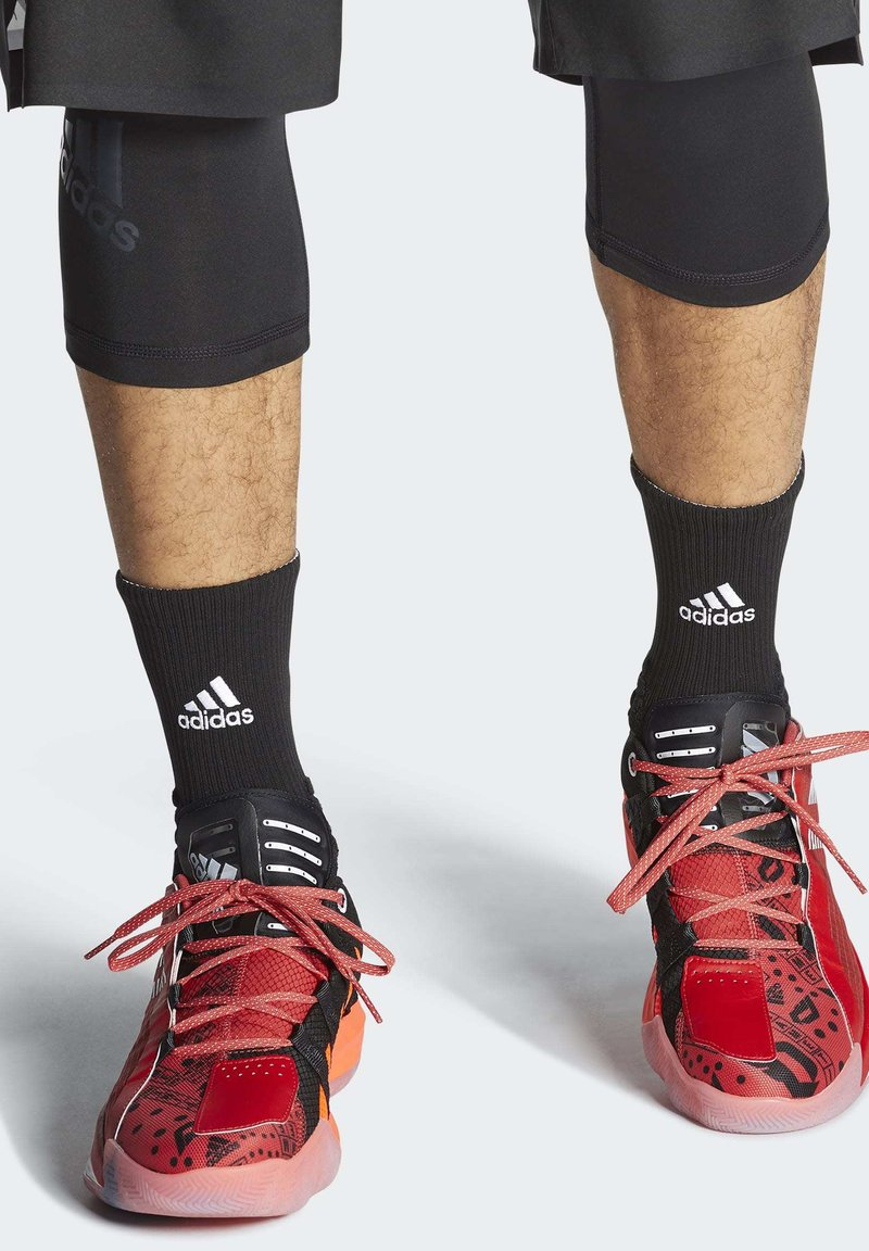 adidas Performance - DAME 6 SHOES - Basketball shoes - red