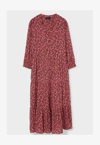 C&A - Day dress - dark red - 2