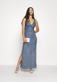 Lace & Beads - MACKENZIE MAXI - Occasion wear - navy irridescent - 1