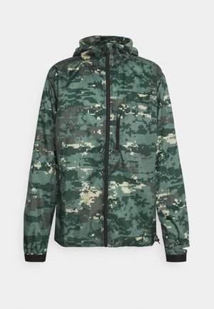 WIND JACKET - Training jacket - digital woodland/duck green