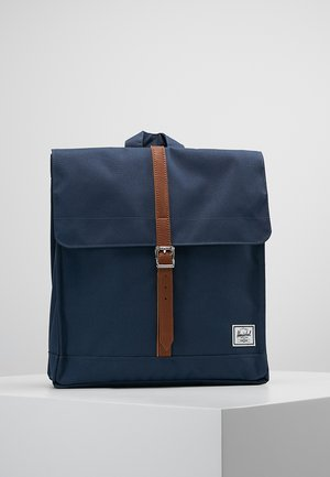 CITY MID VOLUME - Rucksack - navy/tan