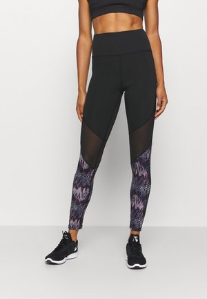 ANIMAL - Leggings - black/blue