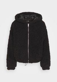 New Look Petite - SHORT BORG - Light jacket - black - 3