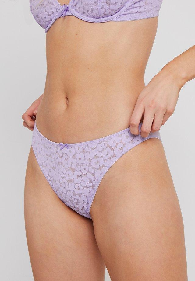 HIGH LEG - Trusser - lavender