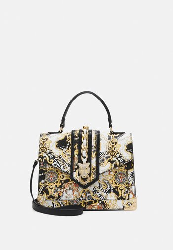 BARO - Handbag - black/gold coloured/multi