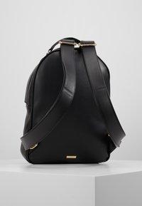 ALDO - ELESEY - Mochila - jet black/gold-coloured - 2