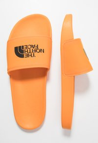 The North Face - BASE CAMP SLIDE II - Mules - lame orange/black - 1