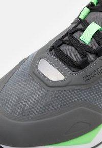 Puma - MIRAGE MOX TECH VEGAN - Sneakers - castlerock/elektro green - 7