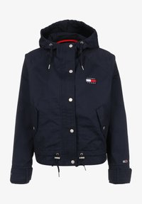 Tommy Jeans - WAIST DETAIL - Summer jacket - twilight navy - 0