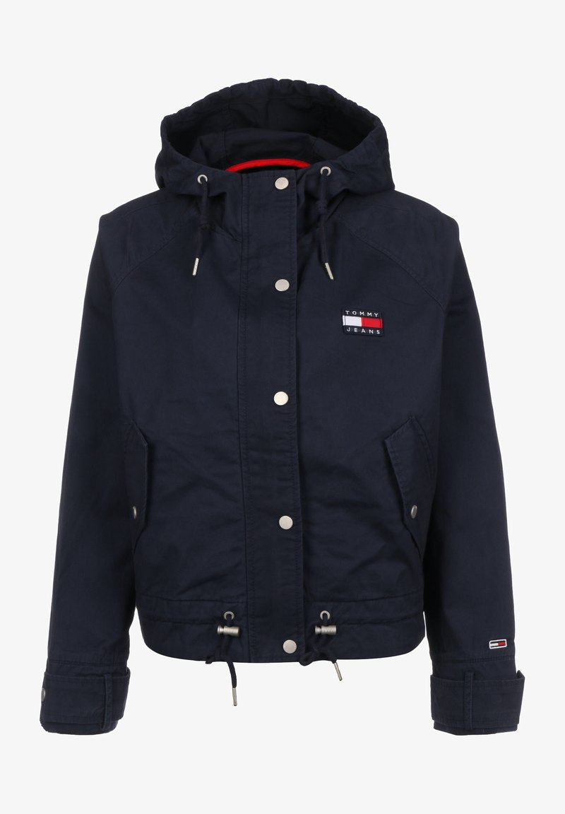 Tommy Jeans - WAIST DETAIL - Summer jacket - twilight navy