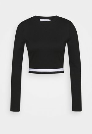 MONOCHROME MILANO - Bluzka z długim rękawem - black