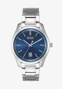 BOSS - CIRCUIT - Klokke - silver/blue - 1