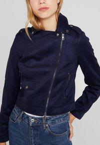 KIOMI - Faux leather jacket - dark blue - 5