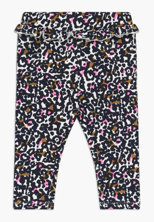 NBFTIVE PANT BRU BOX - Trousers - snow white