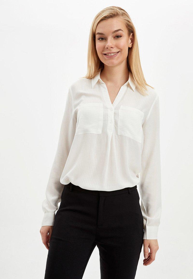 DeFacto - BLOUSE - Blouse - white